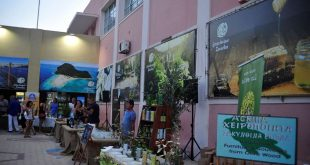 Exhibition of traditional local products