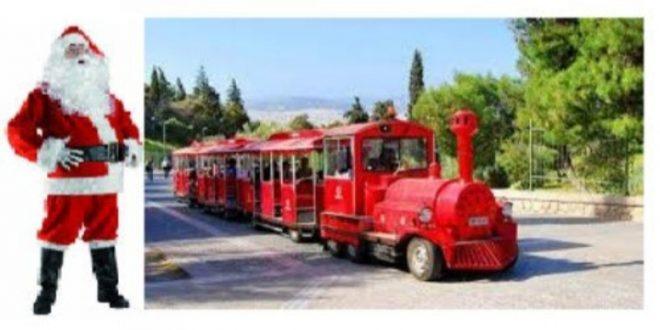 Join Santa in his train Monday 16/12