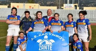 Volunteers:- Women's Rugby team of Zakynthos