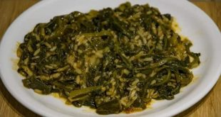 Zakynthian delights….. Spinach and rice (spanakorizo)