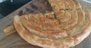 Spanakopita Strifti… Spinach and Cheese pie twist.