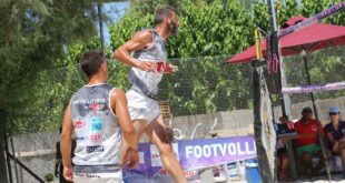 Zakynthos:- FootVolley event this weekend in Lagana.. prominent guest stars