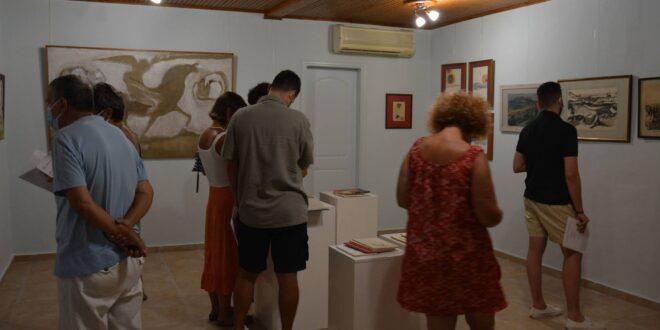 Zakynthos:- Exhibition of Zakynthian Artist, Maria Rousea